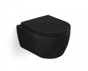 Подвесной унитаз CT2037V Черный